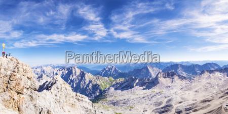panorama from zugspitze
