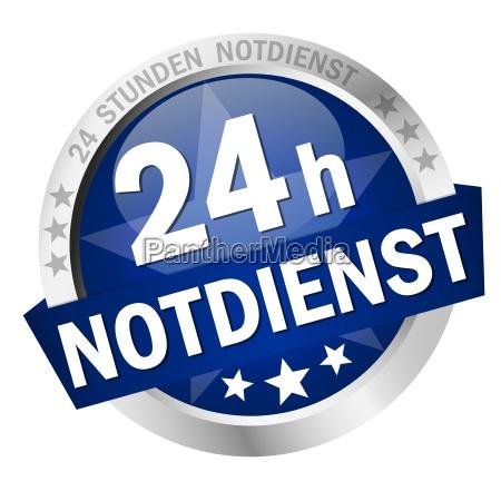 button 24h notdienst