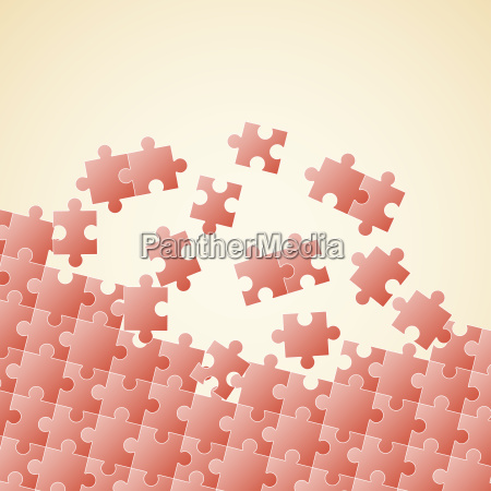 puzzle pieces background