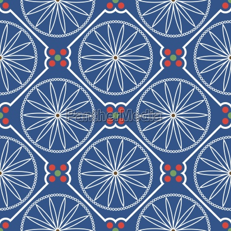 geometric chinese seamless pattern