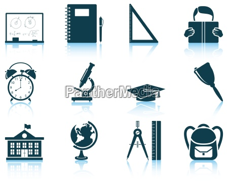 set of education icon