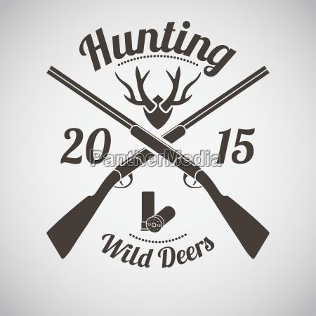 jagd emblem