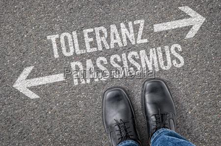 entscheidung an der kreuzung toleranz