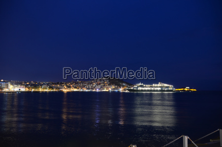kusadasi in the evening