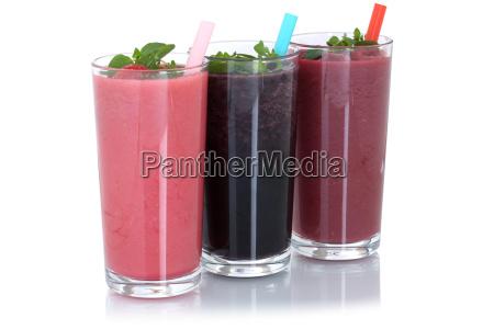 smoothie saft mit fruechte milchshake fruchtsaft