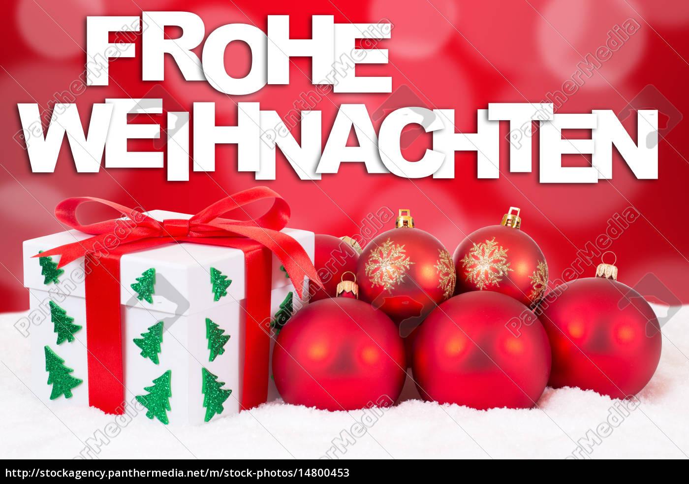 Karte Frohe Weihnachten.Lizenzfreies Bild 14800453 Frohe Weihnachten Karte Weihnachtsgeschenke Geschenke Mit Rote