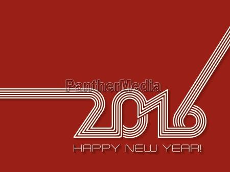 happy new year 2016 background design