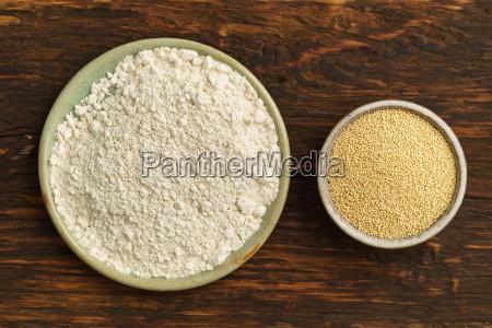 amaranth amaranth and flour
