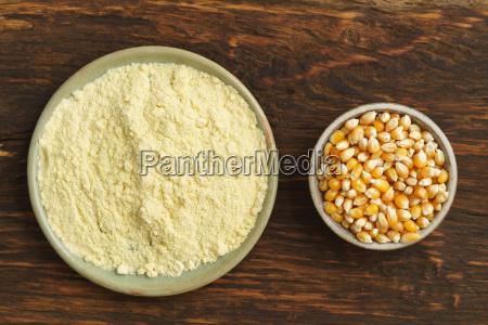 corn and corn flour