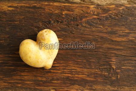 herzfoermige kartoffel