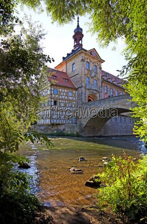 bamberg altes rathaus mit rottmeisterhaus