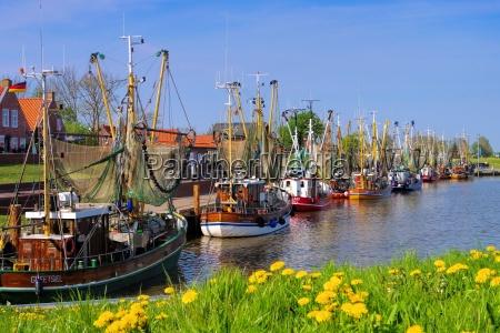greetsiel hafen greetsiel harbour 01
