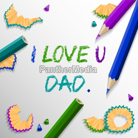 illustration painted daddies fathers vector fathers
