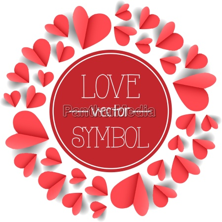 hearts vector symbol