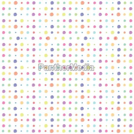 seamless dots background pattern