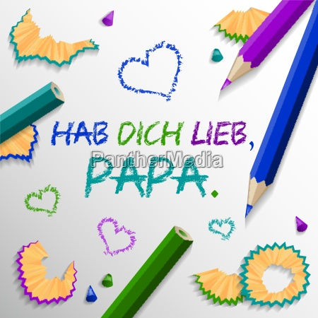 fathers day background vector colorful