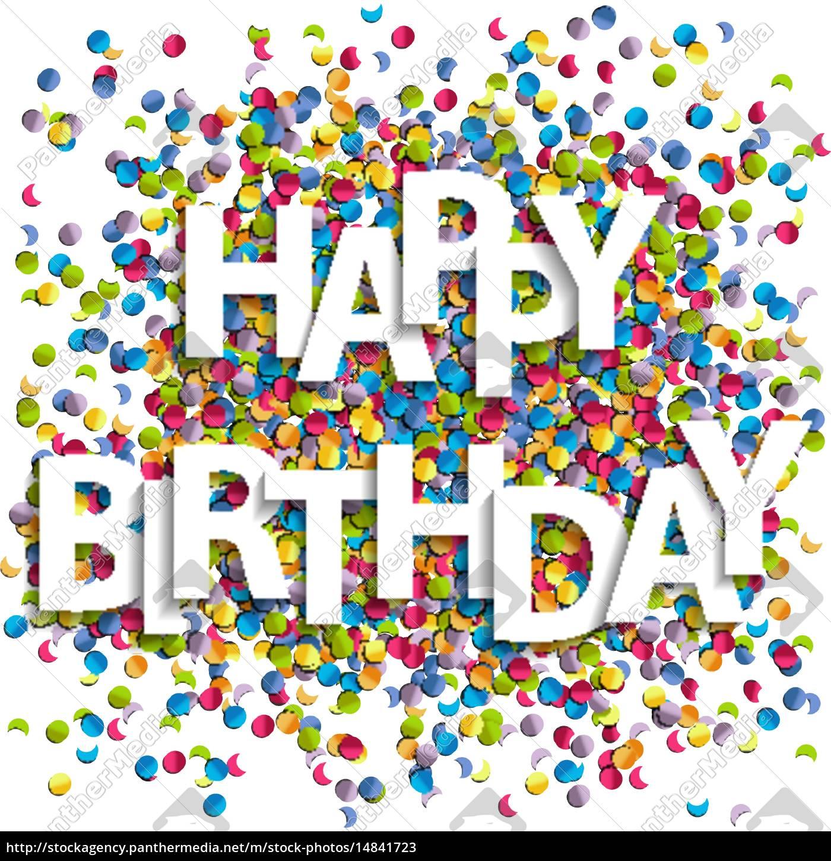 Happy Birthday Bild