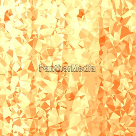 abstract orange polygonal background