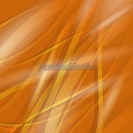 abstract orange wave background line orange