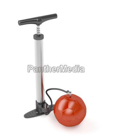 pumpe und ball