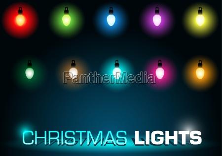 christmas lights set
