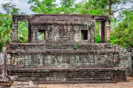 angkor thom kambodscha bayon khmer tempel
