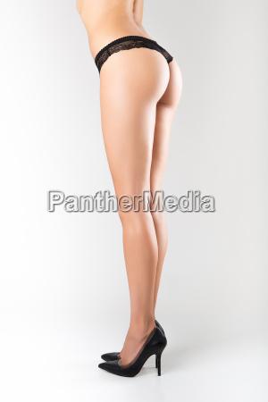 sexy kurven maedchen zurueckohne cellulite