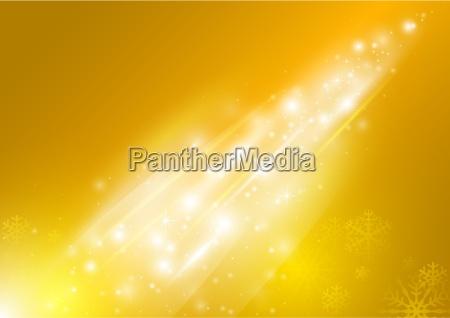 yellow abstract xmas greeting