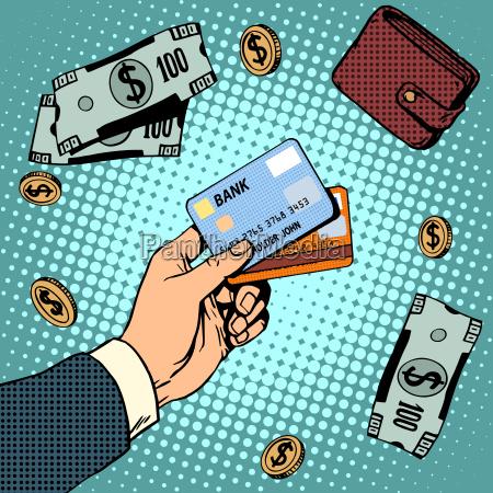 bank card business discounts money finance