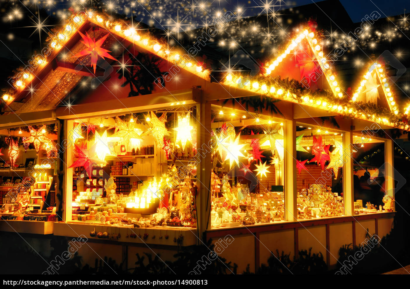 verkaufsstand, am, weihnachtsmarkt, , keine, logos - 14900813