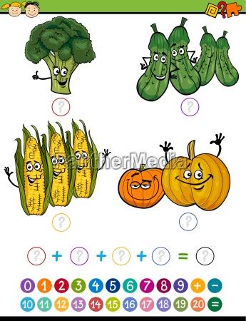 mathematical exercise cartoon