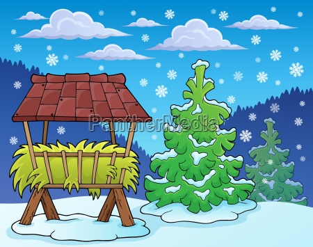 winter season theme image 2