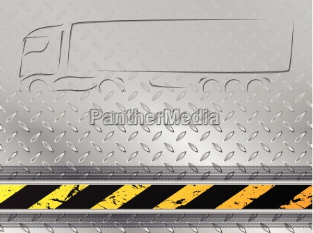 iindustrial background with tire track and