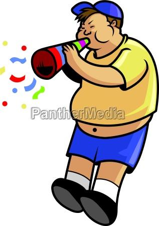 fatboy blow trumpet