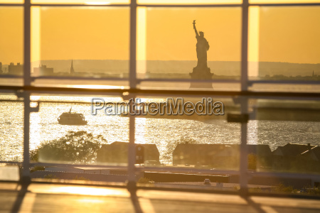 view of liberty statue from cruise