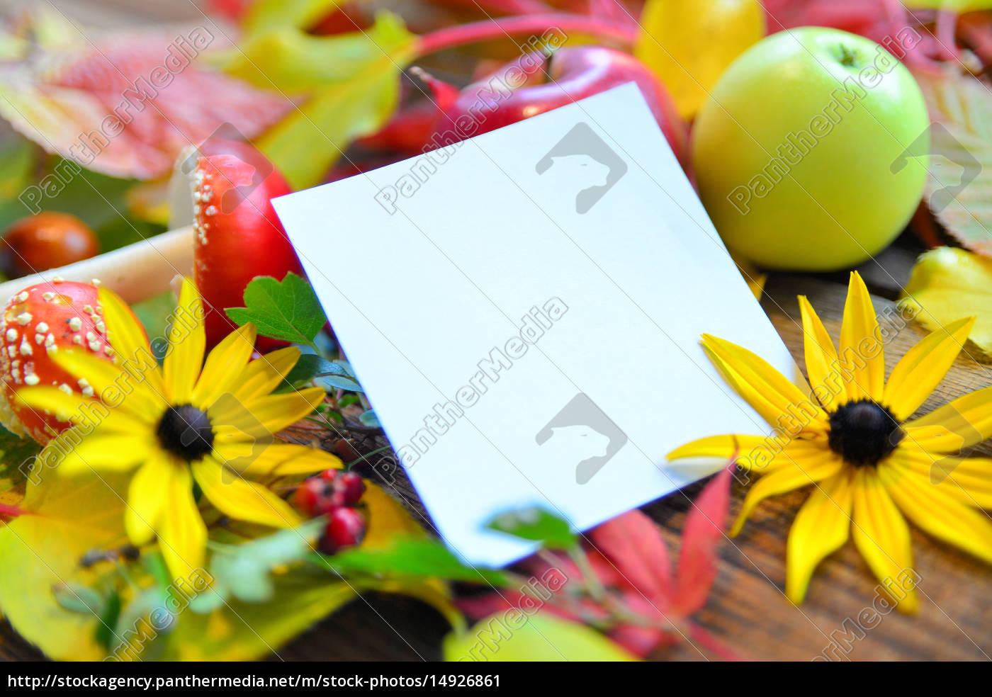 Herbst Hintergrund Lizenzfreies Bild 14926861 Bildagentur