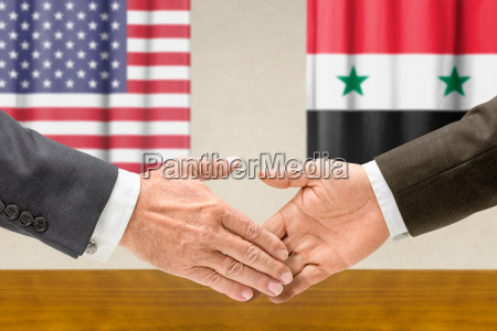 representatives of the us and syria
