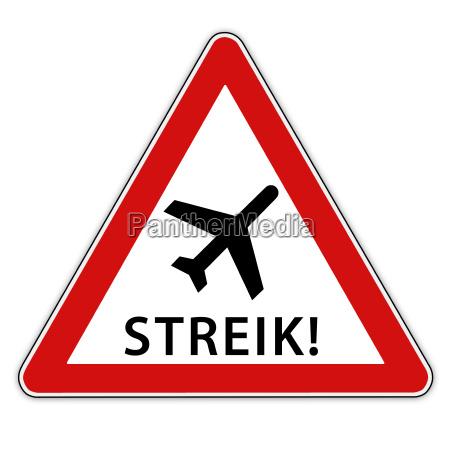 streik am flughafen