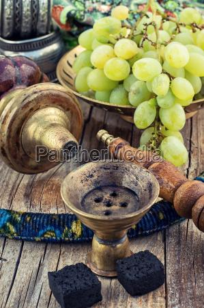 shisha mit fruchtigen aroma