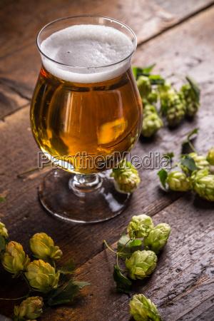 erfrischende kalte bier