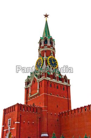 moscow kremlin isolated