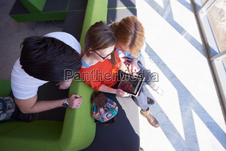 students, group, working, on, school, - 14942147