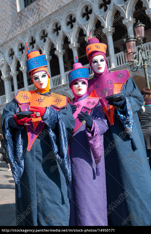 karneval, in, venedig - 14950171