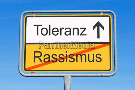 toleranz und asyl