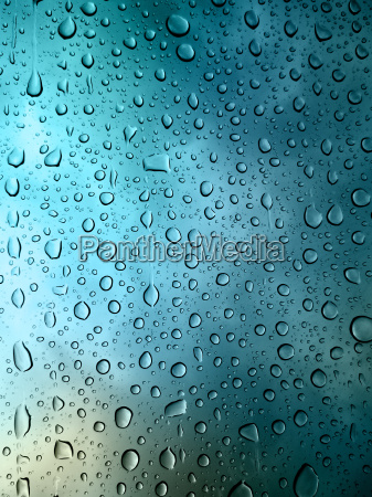 rainy drop on glass