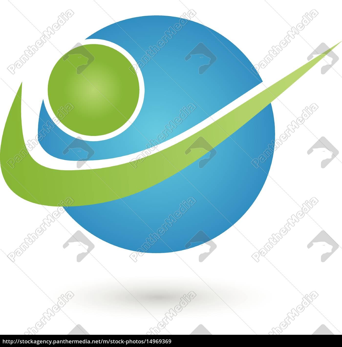 Person In Bewegung Logo Sport Mensch Lizenzfreies Bild
