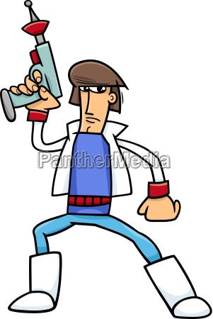science fiction character cartoon