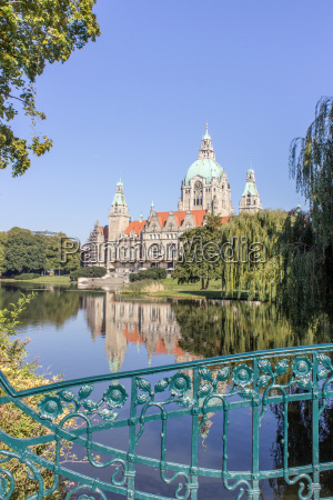 town hall in hannover in the