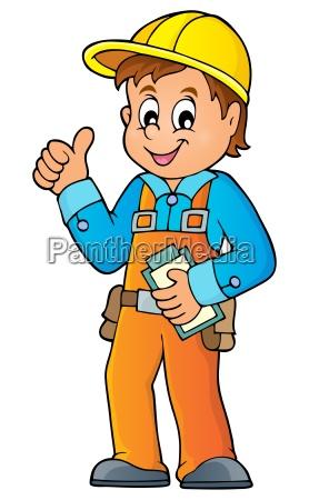 person werk fabrik fertigungsanlage notizblatt arbeitend