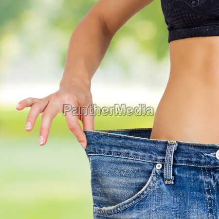 slim waist slimming body successful diet